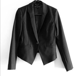 French Connection Cropped Tuxedo Jacket